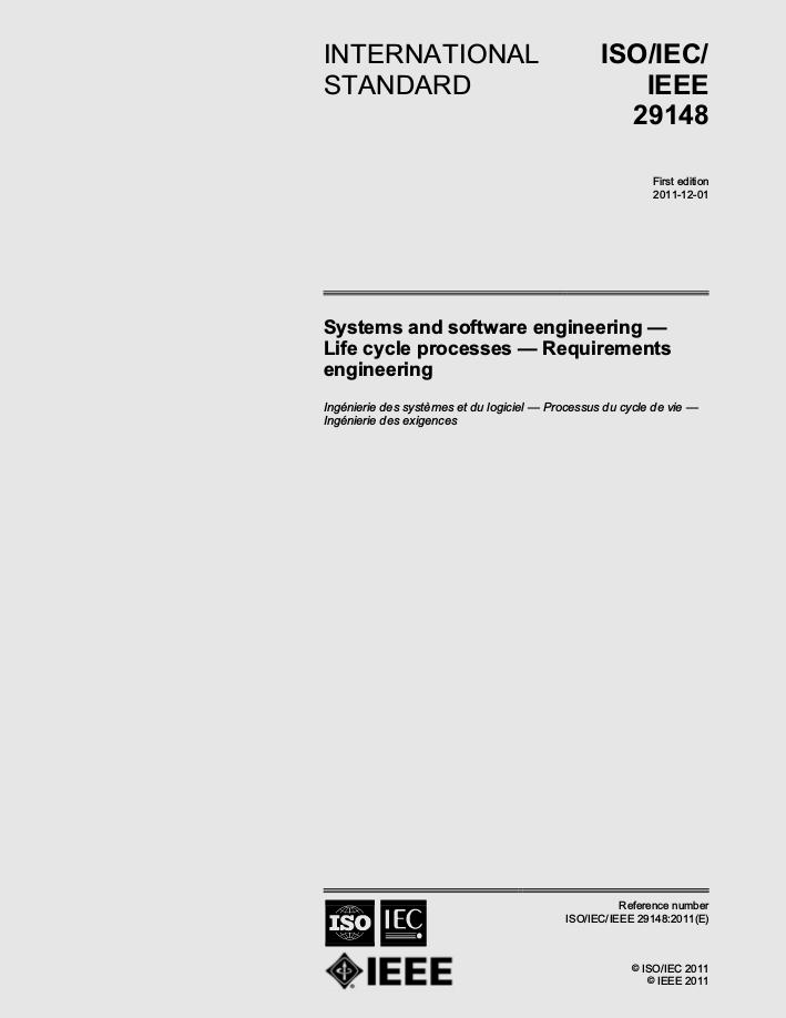 ISO/IEC/IEEE 29148