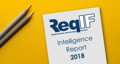 Intelligence Report: ReqIF in 2018